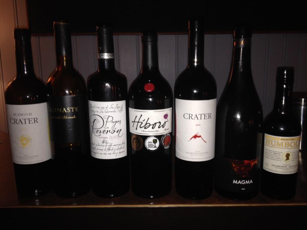 Grosse Weine von Tenerifa
